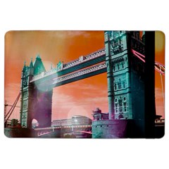 London Tower Bridge, Bokeh Orange iPad Air 2 Flip