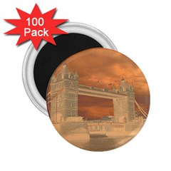 London Tower Bridge Special Effect 2.25  Magnets (100 pack)