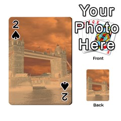 London Tower Bridge Special Effect Playing Cards 54 Designs