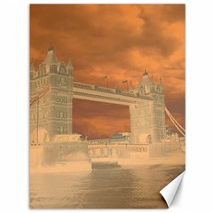 London Tower Bridge Special Effect Canvas 36  X 48