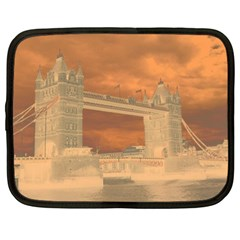 London Tower Bridge Special Effect Netbook Case (XL)