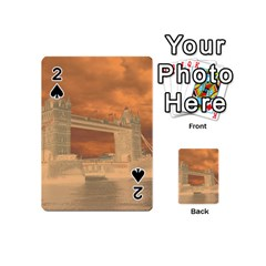 London Tower Bridge Special Effect Playing Cards 54 (Mini)