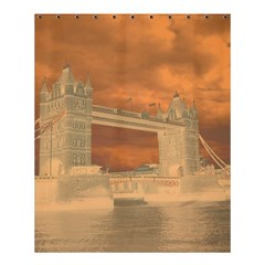 London Tower Bridge Special Effect Shower Curtain 60  X 72  (medium)