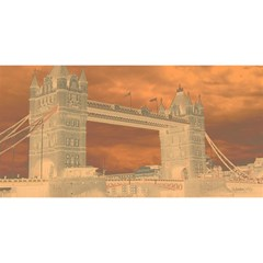 London Tower Bridge Special Effect YOU ARE INVITED 3D Greeting Card (8x4)