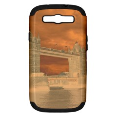 London Tower Bridge Special Effect Samsung Galaxy S III Hardshell Case (PC+Silicone)