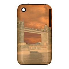 London Tower Bridge Special Effect Apple iPhone 3G/3GS Hardshell Case (PC+Silicone)