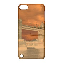 London Tower Bridge Special Effect Apple iPod Touch 5 Hardshell Case with Stand