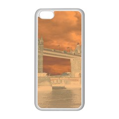 London Tower Bridge Special Effect Apple Iphone 5c Seamless Case (white)
