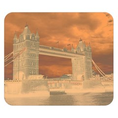 London Tower Bridge Special Effect Double Sided Flano Blanket (small)