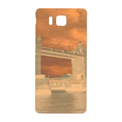 London Tower Bridge Special Effect Samsung Galaxy Alpha Hardshell Back Case