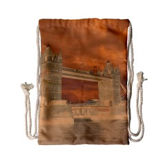 London Tower Bridge Special Effect Drawstring Bag (Small)