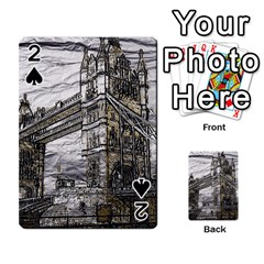 Metal Art London Tower Bridge Playing Cards 54 Designs