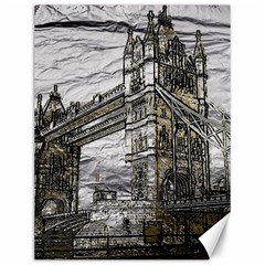 Metal Art London Tower Bridge Canvas 12  x 16