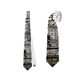 Metal Art London Tower Bridge Neckties (One Side)