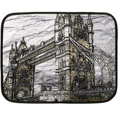 Metal Art London Tower Bridge Fleece Blanket (mini)