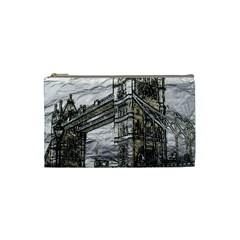 Metal Art London Tower Bridge Cosmetic Bag (Small)