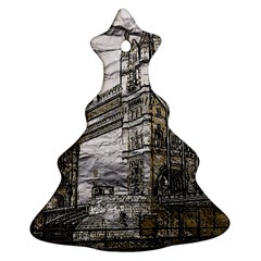 Metal Art London Tower Bridge Ornament (christmas Tree)