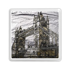 Metal Art London Tower Bridge Memory Card Reader (Square)