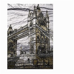 Metal Art London Tower Bridge Large Garden Flag (two Sides)