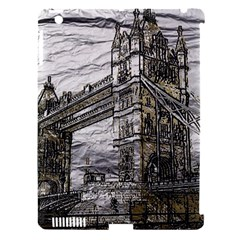 Metal Art London Tower Bridge Apple iPad 3/4 Hardshell Case (Compatible with Smart Cover)