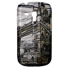 Metal Art London Tower Bridge Samsung Galaxy S3 MINI I8190 Hardshell Case
