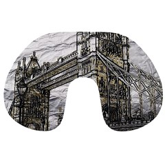 Metal Art London Tower Bridge Travel Neck Pillows