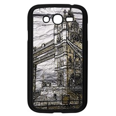Metal Art London Tower Bridge Samsung Galaxy Grand DUOS I9082 Case (Black)