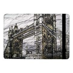 Metal Art London Tower Bridge Samsung Galaxy Tab Pro 10.1  Flip Case