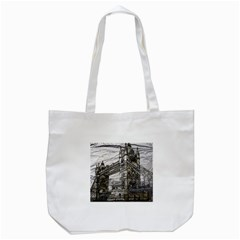Metal Art London Tower Bridge Tote Bag (White)