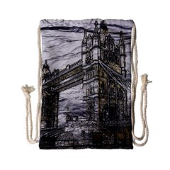 Metal Art London Tower Bridge Drawstring Bag (small)