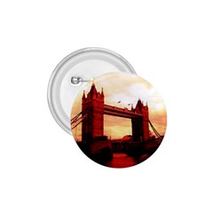 London Tower Bridge Red 1.75  Buttons