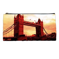 London Tower Bridge Red Pencil Cases