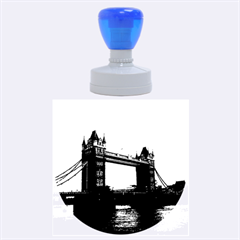 London Tower Bridge Red Rubber Round Stamps (large)