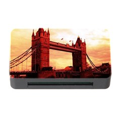 London Tower Bridge Red Memory Card Reader With Cf