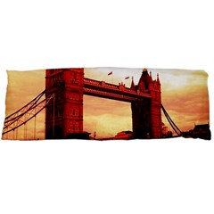 London Tower Bridge Red Body Pillow Cases Dakimakura (two Sides)