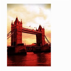 London Tower Bridge Red Large Garden Flag (two Sides)