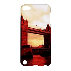 London Tower Bridge Red Apple iPod Touch 5 Hardshell Case