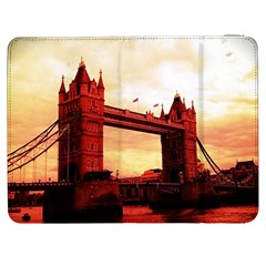 London Tower Bridge Red Samsung Galaxy Tab 7  P1000 Flip Case