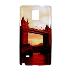 London Tower Bridge Red Samsung Galaxy Note 4 Hardshell Case