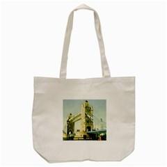 Watercolors, London Tower Bridge Tote Bag (Cream)
