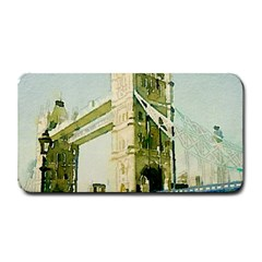 Watercolors, London Tower Bridge Medium Bar Mats