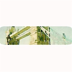 Watercolors, London Tower Bridge Large Bar Mats
