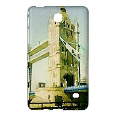 Watercolors, London Tower Bridge Samsung Galaxy Tab 4 (7 ) Hardshell Case