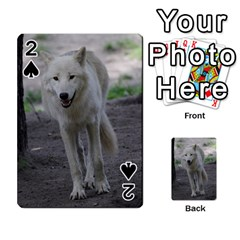 White Wolf Playing Cards 54 Designs