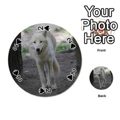 White Wolf Playing Cards 54 (Round)