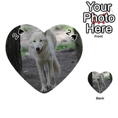 White Wolf Playing Cards 54 (Heart)