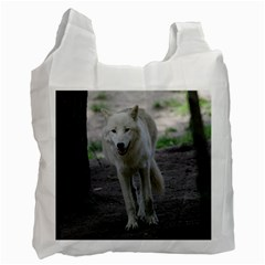 White Wolf Recycle Bag (Two Side)