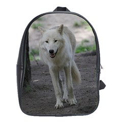 White Wolf School Bags(Large)