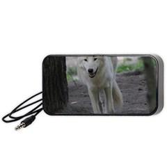White Wolf Portable Speaker (black)