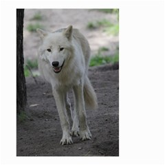 White Wolf Small Garden Flag (Two Sides)